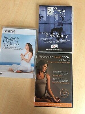 Pregnancy Yoga And Exercise DVDs