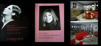 Christie's Memories...Personal Property of Barbra Streisand Auction Catalog NEW