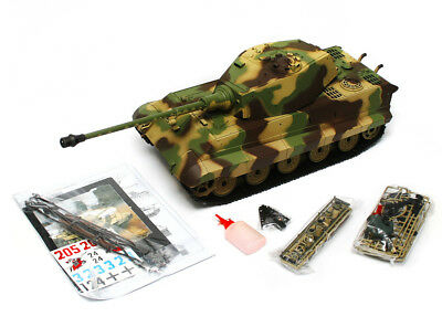 Heng Long 1:16 2.4G Remote Control King Tiger RC Tank BB Smoke & Sound