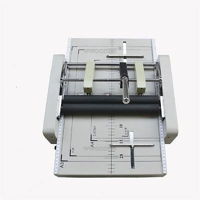 New Booklet Binding / Folding Machine Manual Booklet Stapler A3 Paper P