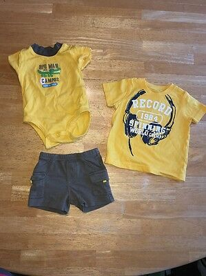 Baby Boy Carter's 3 Month T-shirt And Shorts Set