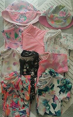 Bonds girl size 1 summer bundle