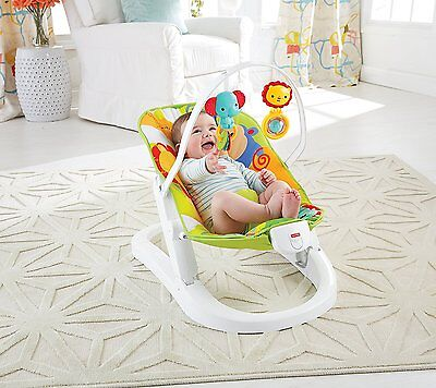 Fisher-Price Fold and Go Bouncer - New