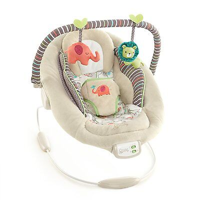 Bright Starts Ingenuity Cradling Bouncer in Cozy Kingdom - New