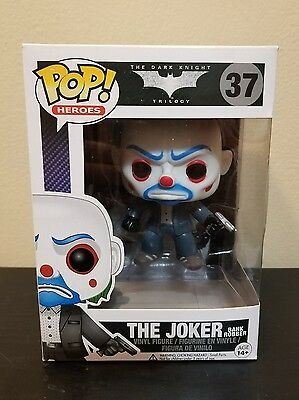 Funko POP The Dark Knight #37 JOKER (BANK ROBBER) Vinyl Figure