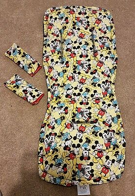 mickey and minnie mouse pram liner