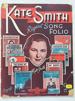 Kate Smith Request Song Sheet Music, You And I, Goodnight Again, My Buddy