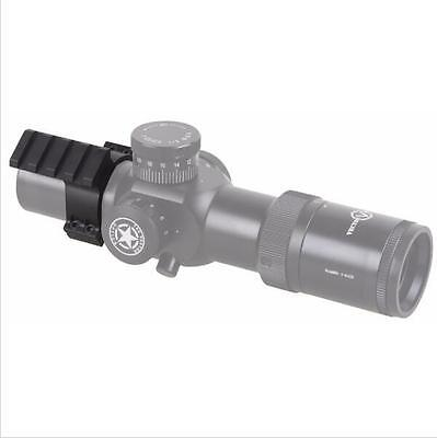35mm RifleScope Scope Mount Ring Adapter Bracket with Accessory 20mm Rail