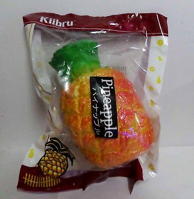 Brand New Arrival Kawaii Kiibru Rare Giant PineApple Slow Rise Squishy Scented