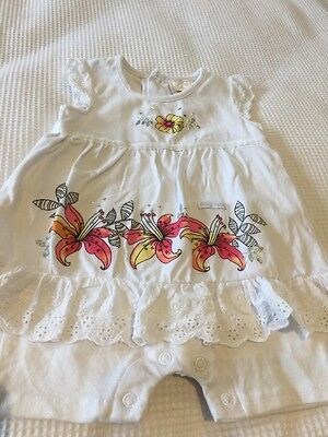 Baby Girl Onsie With Dress Size 0 (6-12 Months) BNWOT