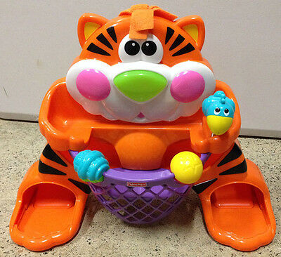 Fisher Price Tiger Basketball Toy