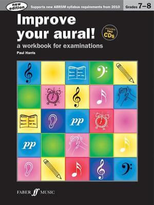 Improve Your Aural! Grade 7-8 Book & Cd