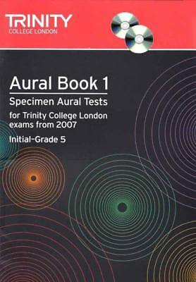 Aural Tests Book 1 Initial - Gr 5 Book & Cd From 2007