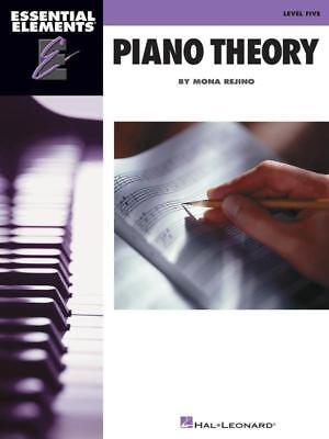 Essential Elements Piano Theory Lvl 5 Ee