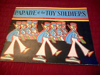 1931 Parade Of The Toy Soldiers Children's Book By Peter Mabie