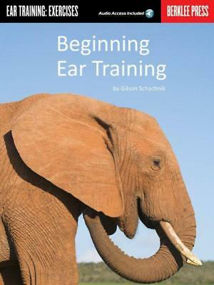 Beginning Ear Training Workbook Book & Cd