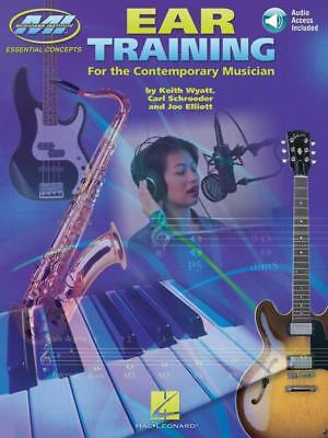 Ear Training For Contemporary Musician Book & Cd