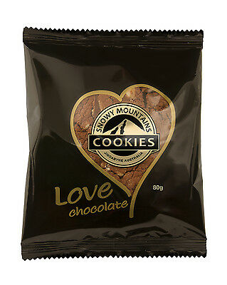 Snowy Mountains Cookies 14x80g Love Chocolate