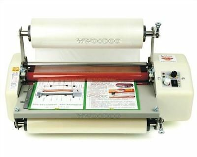 """Hottest New Four Rollers Roll Laminating Machine 13"""" Laminator 8350T K"""
