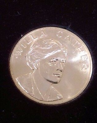 1981 Medal Willa Cather-Gold