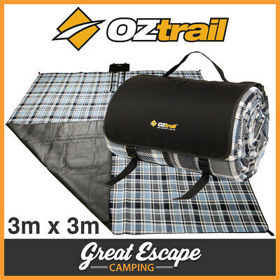 Oztrail Deluxe 3m x 3m Picnic Rug