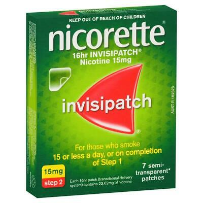 Nicorette Invispatch 15mg 7 Pack - Quit Smoking Patch