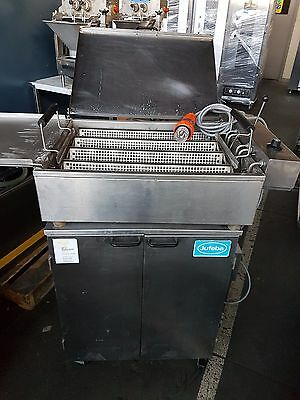 Jufeba Donut Fryer with Under Bench Prover