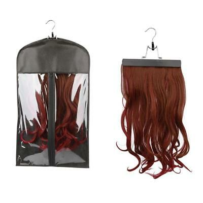 Wig Hangers Hair Extension Carrier Storage Case Wig Stands Dust Proof Bags