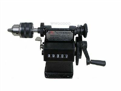 Electric Dual-Purpose Chuck Coil Winder Manual Hand Winding Machine New Coil X