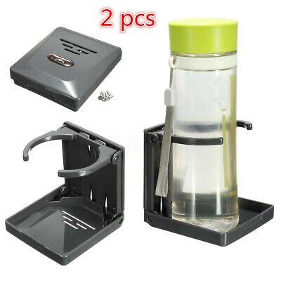 Foldable Folding Drink Cup Bottle Holder Boat Marine Caravan Fish Box Car Mount