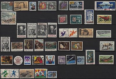 26a**USA ETATS-UNIS (x44 timbres-stamps Oblitéré-Used) UNITED-STATES