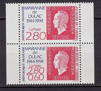 9C*Timbres (Neuf**MNH*TBE) Journée du timbre MARIANNE DULAC n°2863-2864 (1994)