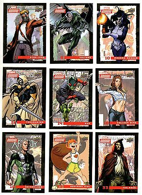 2016 Upper Deck Marvel Annual Gold Foil You Pick Finish Your Set ePack Exclusive