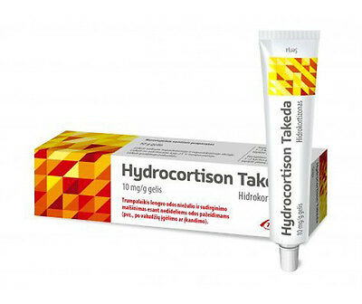 Hydrocortison Takeda 10 mg / g gel for dermatitis and eczema symptoms