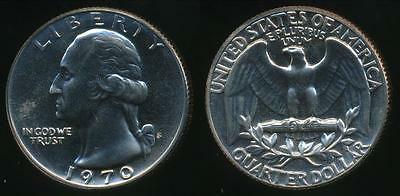 United States, 1970-S Quarter, 1/4 Dollar, Washington - Proof