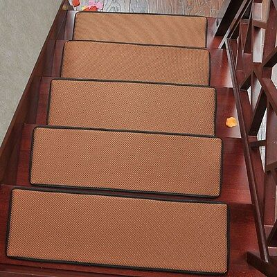 New Stair Mat Summer Anti-Slip Stair Treads Carpet Cool Indoor Step Rug Pad 1PC