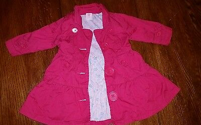 Pumpkin Patch Baby Winter jacket cotton lined. 6-12mths