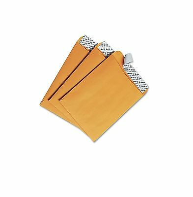 Quality Park Redi Strip Catalog Envelope 6 x 9 Brown Kraft 100 Box QUA44162
