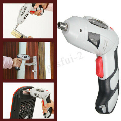 45Pcs 4.8V DC Rechargeable Cordless Electric Screwdriver Power Bit Hand Drill EU