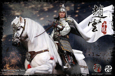 303 Toys Three Kingdoms Zhao Yun 2.0 Steed Banner 1/6 Pre-Order 25% Down Payment