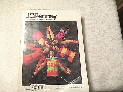 JCPenney Catalog Vintage 1971 Fall and Winter