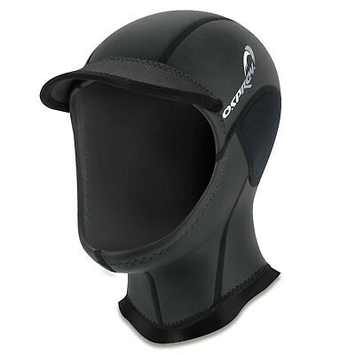 Osprey 2mm Wetsuit Hood Surfing Cap Peaked Stretch Hat Watersports Bodyboarding