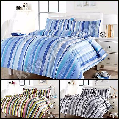 Duvet Cover with Pillow Case Quilt Cover Floral Set Single Double King All Sizes