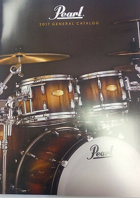 Pearl drums 2017 catalog