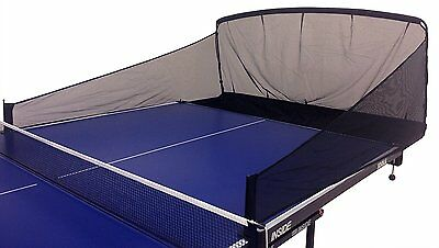 Table Tennis Balls Catch Net Ping Pong Training Equipment Serve Robot Practice