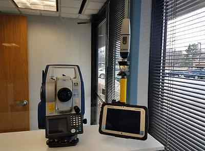 Sokkia DX 205 Robotic Total Station complete with GCX2 GPS Receiver
