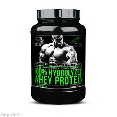 100 % Hydrolyzed Whey Protein Pro Line Scitec 910g Toffee