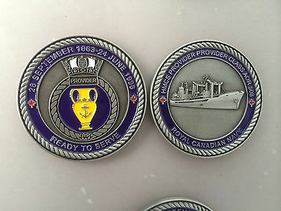 HMCS Provider Royal Canadian Navy Challenge Coin