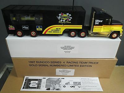 """Sunoco 1997 """" Gold Limited Dealer Edition"""" Racing Team Truck"""