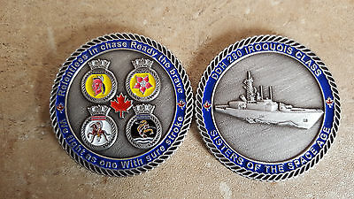 HMCS Iroquois Class Royal Canadian Navy Challenge Coin